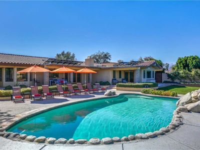 Photo for Mountain view location features private gated and hedged grounds, Pool and spa!