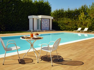 Photo for Agropoli holiday home with pool