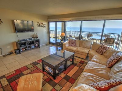 Wake up to the Waves!! Enjoy the view from our oversized wrap around balcony!