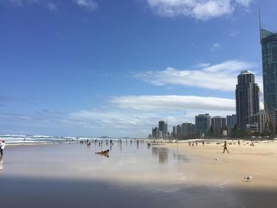 Photo for COOLANGATTA LUXURY  BEACH FRONT FAMILY APARTMENT AVAILABLE 28th  DEC -11th JAN