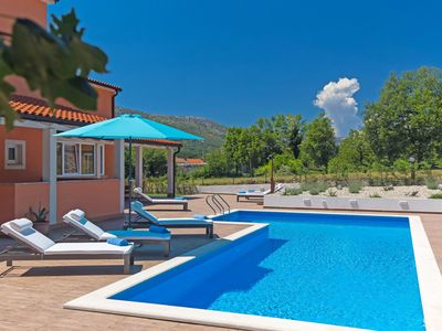 Photo for This 3-bedroom villa for up to 6 guests is located in Crikvenica and has a private swimming pool, ai