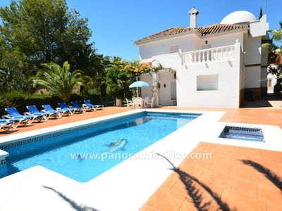 Photo for 7 bedroom Villa, sleeps 18 in Fuengirola with Pool, Air Con and WiFi