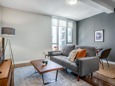 Photo for Modern SoMa 1BR w/ Gym + Roofdeck near BART (Civic Center) by Blueground