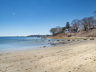 Photo for Comfortable for 8, great views of active waterfront, sandy tidal beach too!