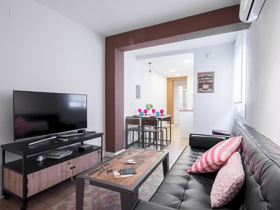 Photo for City Center Capuchinos apartment in Centro with WiFi, air conditioning & lift.