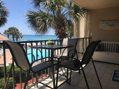 Photo for Million Dollar View On Family Friendly Beach - Includes Beach Chairs