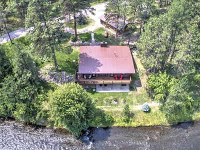 Idle Rest Log Cabin on the Creek, Centrally Located for Black Hills Adventures