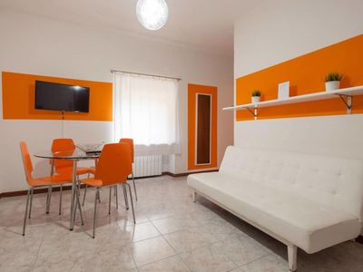Photo for Filippini Orange apartment in Verona with WiFi & air conditioning.