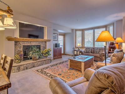 Photo for Comfy retreat w/ ski area views & remodeled kitchen - lifts nearby!