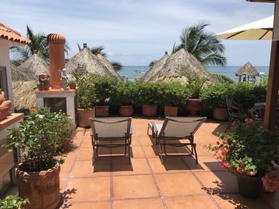 Photo for Beach Cottage next to El Dorado and La Palapa...3+ optional Studio. Pets ok!
