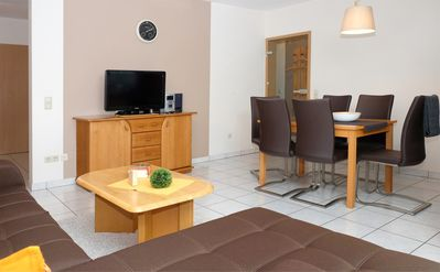 Photo for 80 sqm modern apartment, motorcycle paradise Eifel & Luxembourg