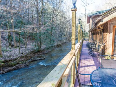 Private, Secluded, Quiet with Large Creek sitting on over 6 acres of wooded land