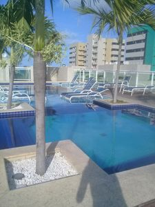 Photo for Jatiúca Waterfront Fully Air Conditioned with Balcony Overlooking the Boulevard