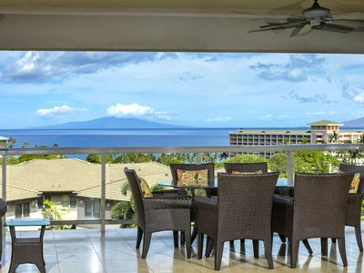 Photo for New Listing! Breathtaking Ocean Views from 3rd Row Luxury Villa at Ho'olei