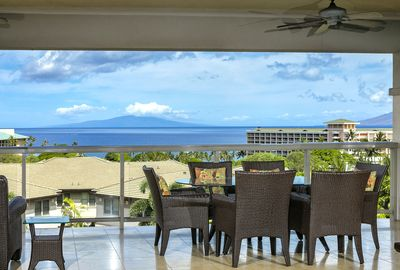 Ocean view from upper lanai