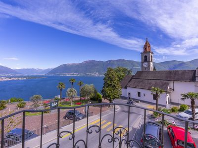 Photo for Yellow View Apartment, Ronco sopra Ascona, Switzerland