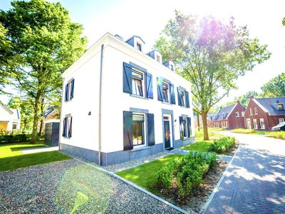 Photo for Stately, luxurious villa with jacuzzi, on a resort at 3 km from the city center of Maastricht