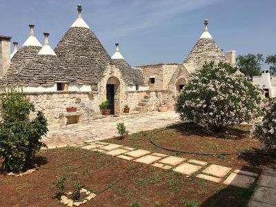 Photo for Magnificent, Fully Renovated Trullo in the Heart of Puglia