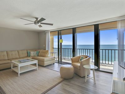 Photo for Trillium #4C - Beach Front Condo with private balcony!