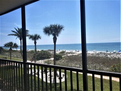 Photo for Weekly rentals. Luxurious beach front condo with the best direct Gulf view.