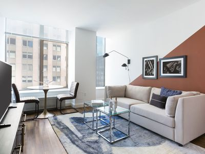 Photo for Modern 1BR in FiDi by Sonder