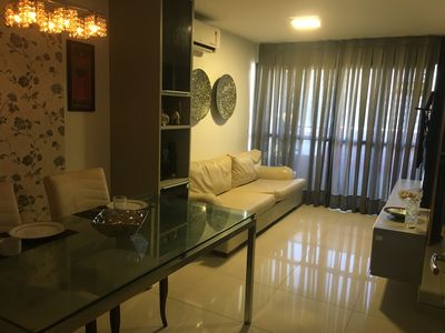 Photo for Super furnished apartment on the beach court of Ponta Verde!