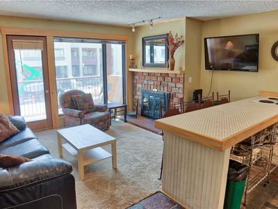 Photo for Lovely 1BD Condo, Across the Street from Quicksilver Lift!