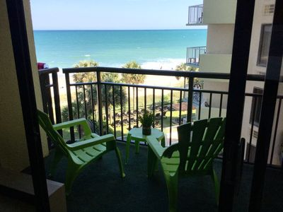 Photo for Remodeled 1 bedroom suite at Patricia Grand Resort, Oceanview, Dogs welcome