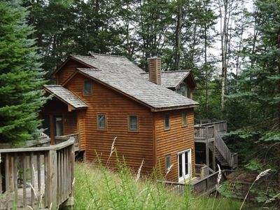 Beautiful Mountain Home- Our Peaceful Retreat! Stairs and ramp accessible.