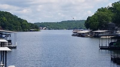 Photo for Cabin shared dock/ trailer parking Sleep up to 8 WIN 1 NIGHT BY BOOKING 7 NIGHTS