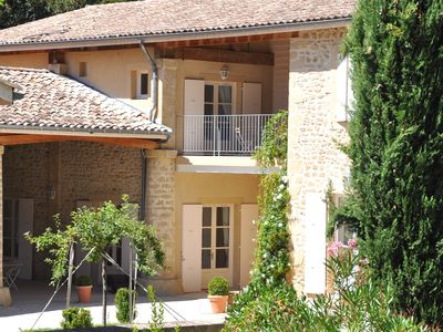 Photo for La Scie, charming and elegant holiday home for 10 p., at  the Gates of Provence