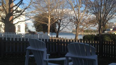 View from front yard of house -- facing St. Michaels harbor