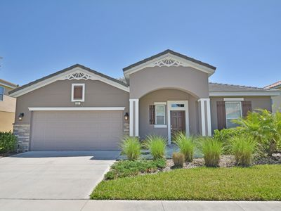 Photo for Furnished 5 Bedroom Home With Pool, Deck, at Solterra Resort Near Disney