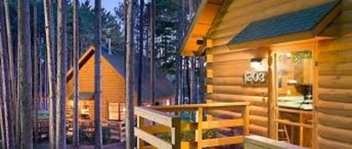 Photo for 2 Bedroom Cabin at Christmas Mountain