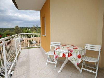 Photo for Two bedroom apartment with terrace and sea view Trget, Raša (A-7687-a)