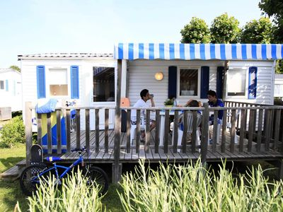 Photo for Camping Les Flots Bleus **** - Mobil Home TV 3 Rooms 4/6 People
