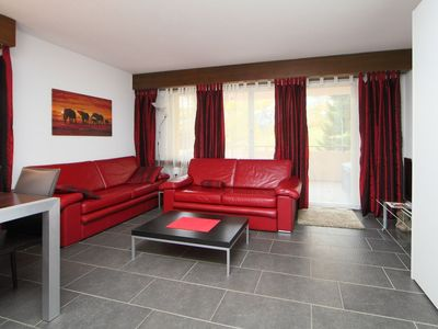 Photo for Apartment in the center of Leukerbad with Lift, Parking, Internet, Washing machine (46141)