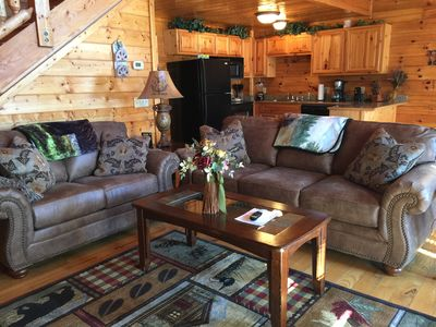 Photo for Pigeon Forge Vacation Cabin 2 Bedroom 2 Bath