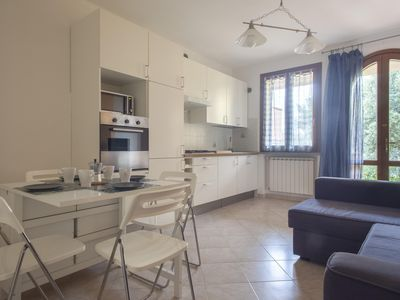 Photo for Vermentino 4 apartment in Livorno with WiFi, integrated air conditioning, private parking & shared …