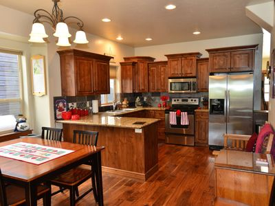 Photo for Walk to Downtown and Payette Lake Stylish and Cozy Comfort for 8 People
