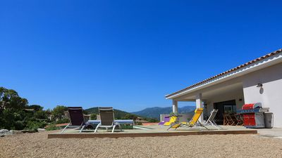 Photo for 2 independent Villas (from 2018) including 1 sea view, 2X180 m². Swimming pools Chauf, Clim