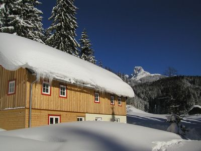 Photo for Newly renovated vacation home with view onto the Dachsteinmassiv