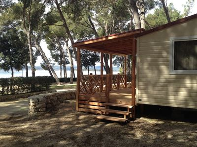 Photo for Comfortable chalet with two bathrooms, at 31 km. from Zadar