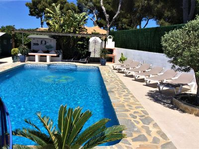 Photo for Spacious private villa with A/C & 10 x 5 metre salt water pool.
