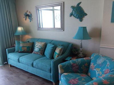 Photo for Oceanfront & Modern 1 BR w/Kitchen at Seawatch Resort ~ POOLS ~ BEACH!