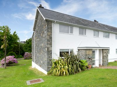 Photo for n a very convenient location for the beach and village, the real feature of this house is the stunni