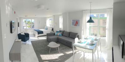 Photo for Superior POOL Suite in heart of south beach- walk to the beach