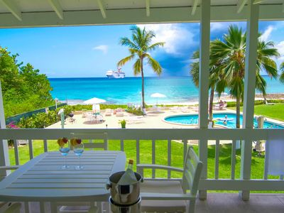 Photo for NEWLY RENOVATED 7 MILE BEACHFRONT W/ SUNSET VIEW! NEAR EVERYTHING !
