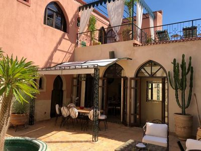 Photo for Villa / Riad in the heart of Palmeraie Ideal golfers