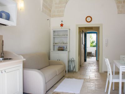 Photo for Beautiful apartment just restored in the magic of the Itria valley